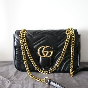 Gucci Marmont Medium Black